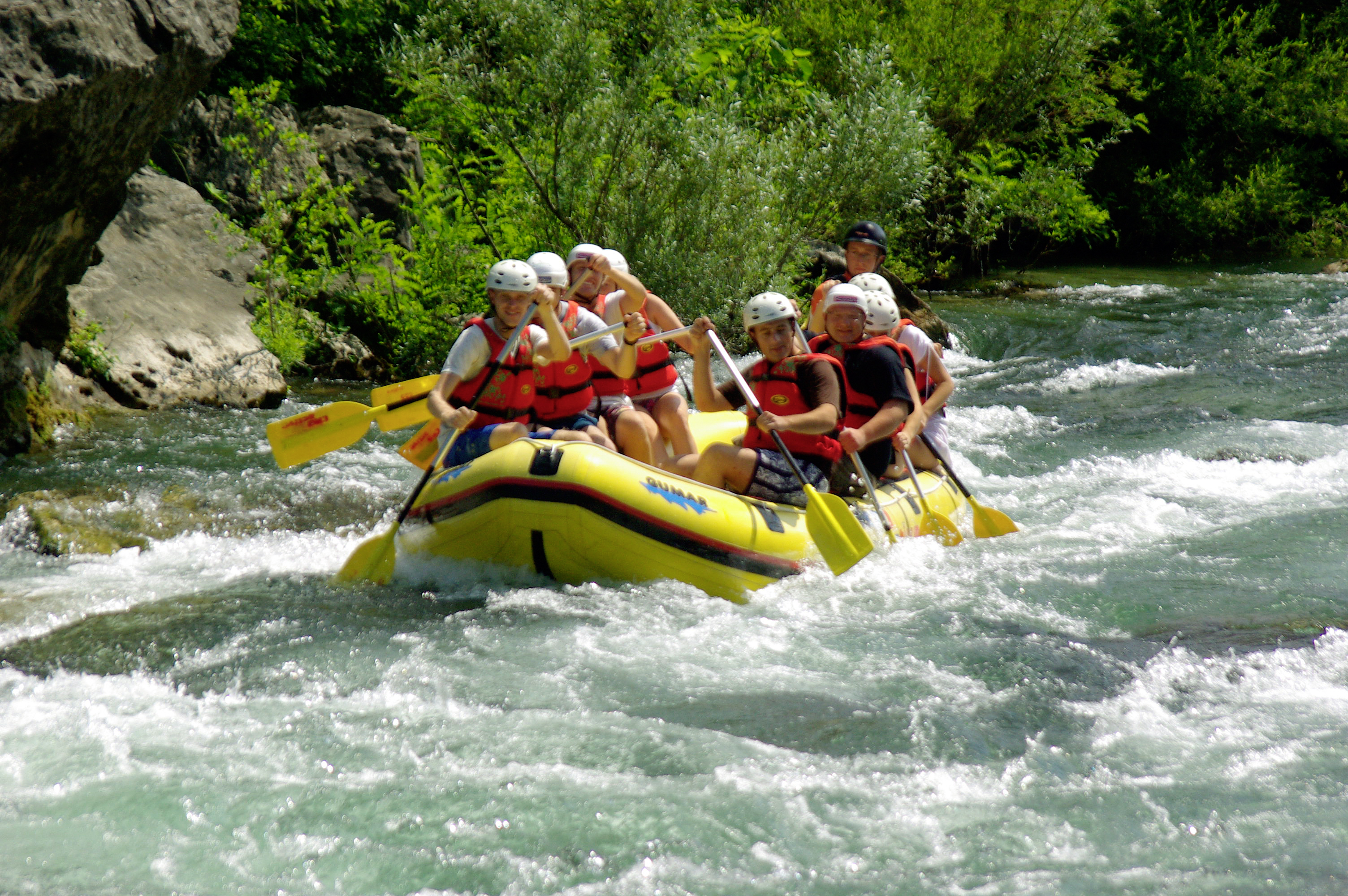 River Rafting Excursion